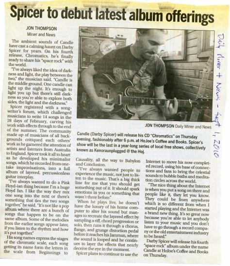 Daily Miner - Sept 1-2010